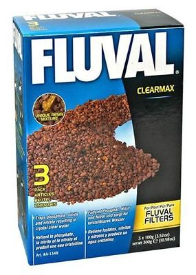 HAGEN FLUVAL CLEARMAX 300g (3x100g) EXTERNAL FILTER TANK MEDIA PHOSPHATE REMOVER