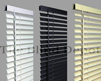 Venetian Venitian Blind Blinds Value Pvc  In A Choice Of 3 Colours & 10 Sizes