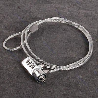 4 Digit Security Password Computer Lock Anti-theft Chain For Laptop Notebook PC