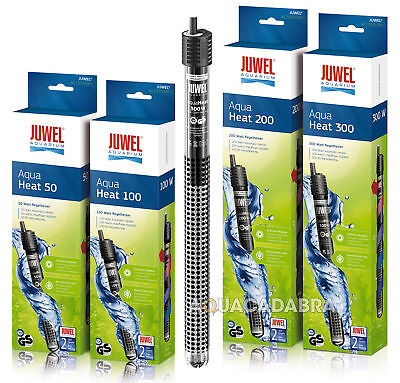 Juwel Aqua Heat Aquarium Tropical Heater 50W,100W,200W,300W Rio Vision Fish Tank