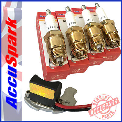 Ford Pinto 2.0 Stealth electronic ignition+AccuSpark spark plugs for Motorcraft
