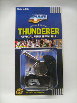 ACME Thunderer Official Referee Finger Whistle with Cushion Grip 477/58.5