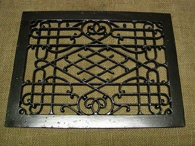 Vintage Cast Iron Register Grate   Antique Old Hardware Architectural 6075