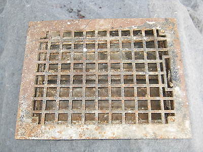 Antique Heat Grate Grille Vent Register 14x11 # 198-11