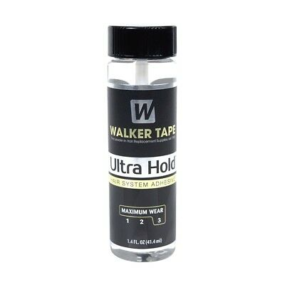 Ultra Hold Walker (Lace Front & Toupee Glue) Size Medium 1.4 oz NEW Best Price**