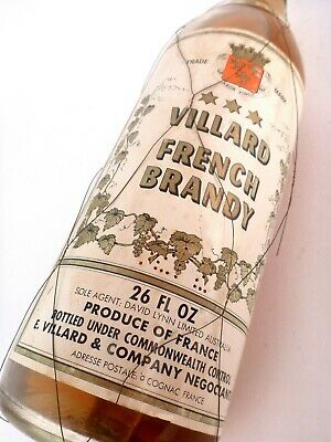 1962 circa VILLARD VSOP French Brandy FREE CASE & DELIVERY Isle of Wine