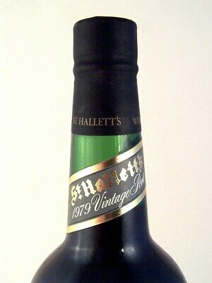 1979 ST HALLETTS Dealers Choice 1982 Adelaide Cup Port FREE SHIP Isle of Wine