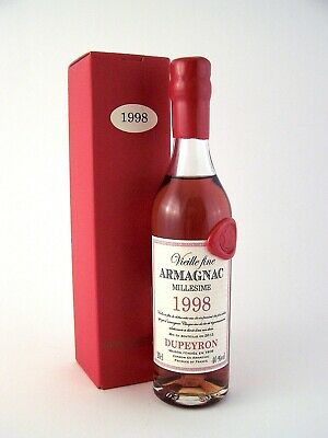1998 Ryst-Dupeyron Armagnac 200ml France FREE SHIP Isle of Wine Great 18th Gift!