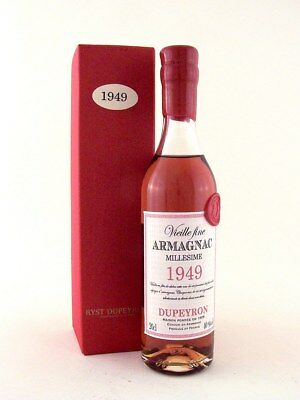 1949 Ryst-Dupeyron Armagnac 200ml France FREE DELIVERY Isle of Wine
