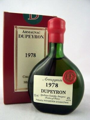 1978 Ryst-Dupeyron Armagnac 50ml France Isle of Wine