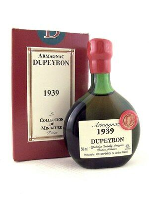 1939 Ryst-Dupeyron Armagnac 50ml France Isle of Wine