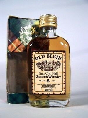 Miniature circa 1969 8yo Old Elgin Whisky Isle of Wine