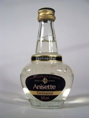 Miniature circa 1979 Continental Anisette Isle of Wine