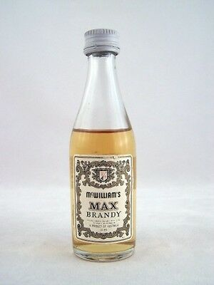 Miniature circa 1974 McWilliams Max Brandy Isle of Wine