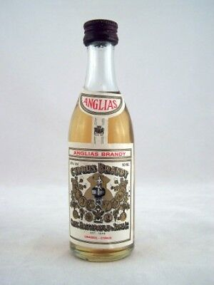 Miniature circa 1976 Anglias Cyprus Brandy Isle of Wine