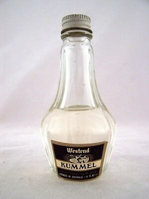 Miniature circa 1966 Westend Kummel Isle of Wine