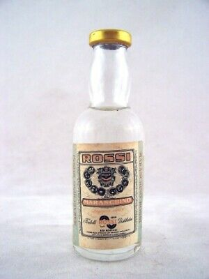 Miniature circa 1975 Rossi Maraschino Isle of Wine