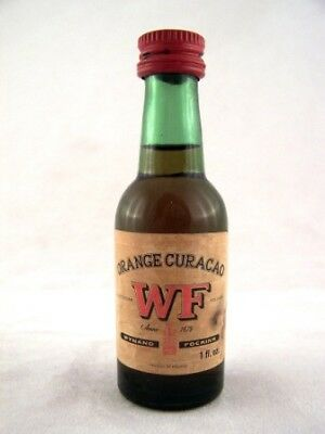 Miniature circa 1973 WF Orange Curacao Isle of Wine
