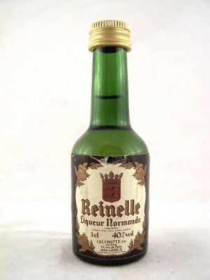 Miniature circa 1976 Reinelle Liqueur Normande Isle of Wine