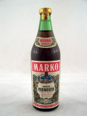 Miniature circa 1973 Marko Sweet Vermouth Isle of Wine