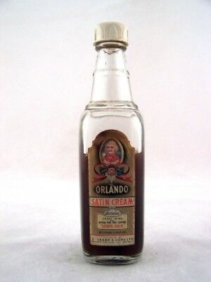 Miniature circa 1963 Orlando Satin Cream Sherry Isle of Wine