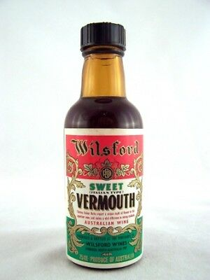 Miniature circa 1973 WILSFORD Sweet Vermouth B 75ml Isle of Wine