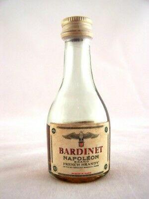Miniature circa 1967 BARDINET Napoleon Brandy Isle of Wine