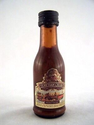 Miniature circa 1987 Fratelli Venetian Cream Isle of Wine
