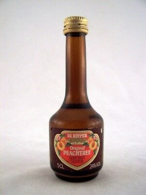 Miniature circa 1983 De Kuyper Original Peachtree Isle of Wine