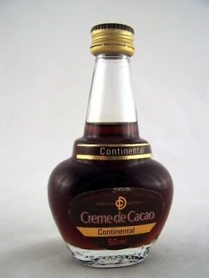 Miniature circa 1978 Continental Crme de Cacao Isle of Wine