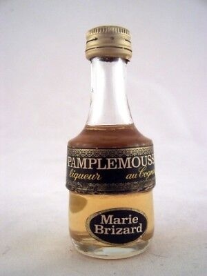 Miniature circa 1969 Marie Brizard Pamplemousse Isle of Wine