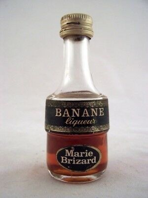 Miniature circa 1969 Marie Brizard Banane Isle of Wine