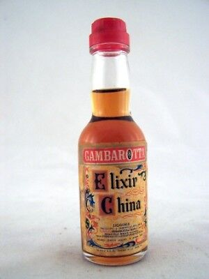 Miniature circa 1978 Gambarotta Elixir China Isle of Wine