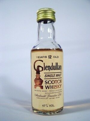 Miniature circa 1972 Glendullan 12YO Malt Whisky Isle of Wine