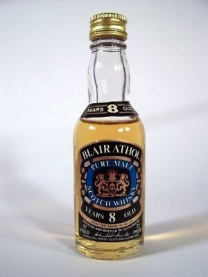 Miniature circa 1972 Blair Athol 8YO Malt Whisky Isle of Wine