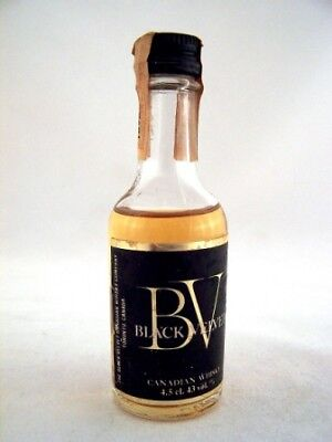 Miniature Dated 1972 BLACK VELVET Canadian Whisky Isle of Wine