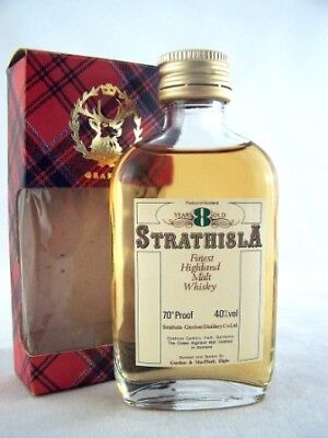 Miniature circa 1969 Strathisla 8yo Malt Whisky Isle of Wine
