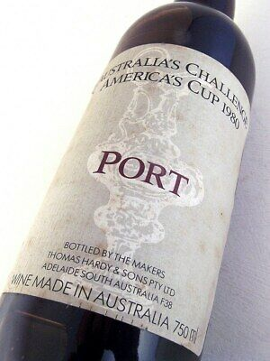 1980 HARDYS Americas Cup Challenger Port Isle of Wine