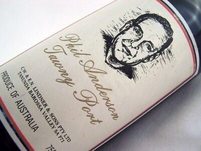1979 circa ST HALLETT Phil Anderson Tawny Port Isle of Wine