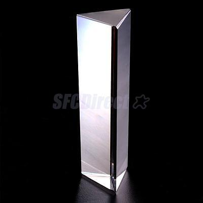 Science LIGHT Education Physics Teaching Optical Glass Prism 6 INCH