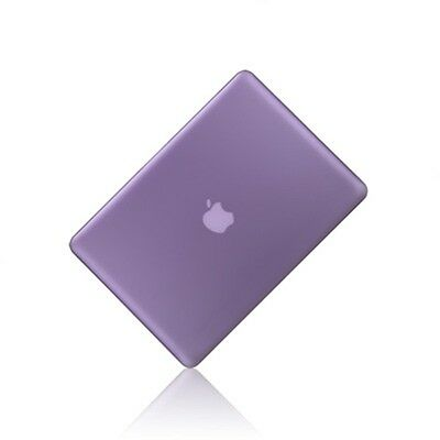 "NEW Rubberized PURPLE Hard Case Cover for Apple Macbook PRO 13"" 13.3(A1278)"