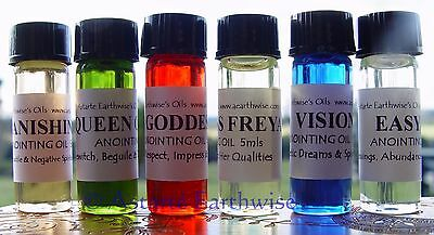 1 x HEALING  OIL - RITUAL OIL SPELL OIL Wicca Pagan Witch Reiki Goth  Wellness