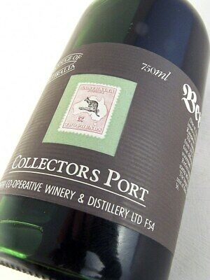 1980 circa BERRI Stamp Port 2 Black & Rose Kangaroo FREE SHIP Isle of Wine