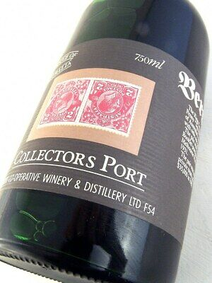 1980 circa BERRI Stamp Port King George V Tuppeny Pair FREE SHIP Isle of Wine