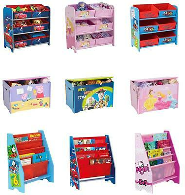 Character Bedroom/playroom Furniture - Matching Storage Items (Free P+P)