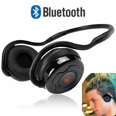 JUSTOP Slim Sports Bluetooth Wireless Headphones/Headset For iPhone,iPad,Samsung
