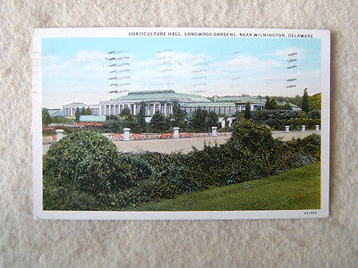 HORTICULTURE HALL, LONGWOOD GARDENS, NEAR WILMINGTON, DELAWARE-1941 PM & 1 CENT