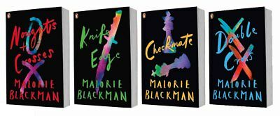Malorie Blackman Noughts & Crosses Sequence 4 Books Set Collection