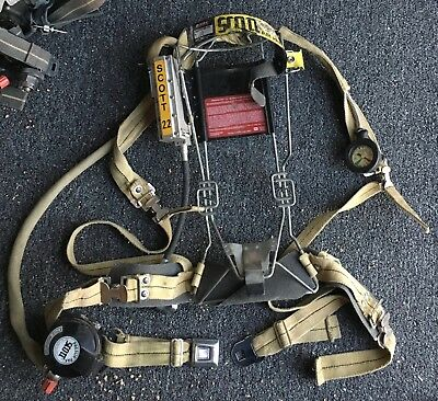 Scott 2.2 Wire Frame air pack SCBA Harness 2216 Air Pak low pressure