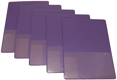 Home Party Plan Consultant Lapboards - 5 Purple Lap Boards